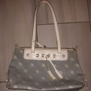 Cream Dooney & Bourke Bag
